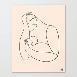 Mother & child Canvas Print