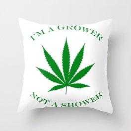 Marijuana Dispensary Legal Weed Throw Pillow
