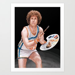 Jackie Moon, Owner Player Coach Art Print