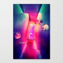 Donnie Darko Frank by GEN Z Canvas Print