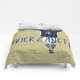 Javier FC Internazionale Milano / Serie A Superstar Football Player Comforters