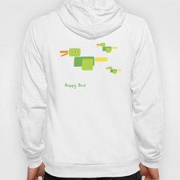Happy Bird-Green Hoody
