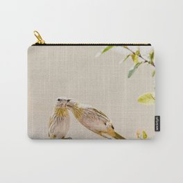Birds Kissing Carry-All Pouch