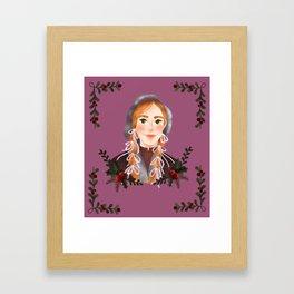 Anne Framed Art Print