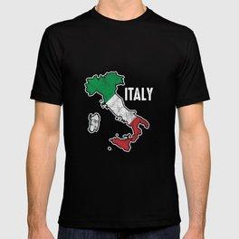 Patriotic Italy Flag Patriot Italian Nationalism T-shirt