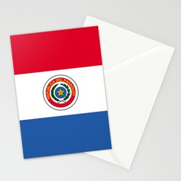 Flag of Paraguay Stationery Cards