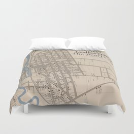 The Pearl City Duvet Cover