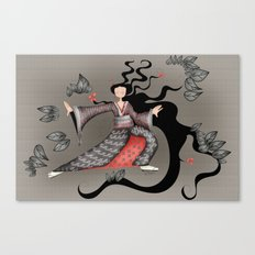 Tai chi-ing Canvas Print
