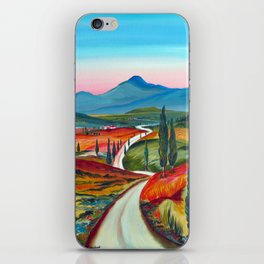 TUSCANY COUNTRY ROAD iPhone Skin