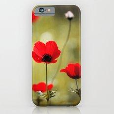 Wild Anemones Slim Case iPhone 6s