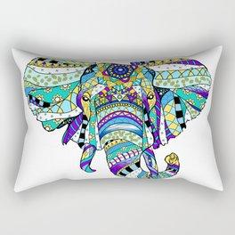 Éléphant royal Rectangular Pillow
