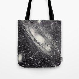 Vintage Astronomy-Nebula M31 Andromeda Tote Bag
