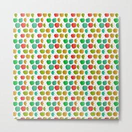 Bold Apples Metal Print