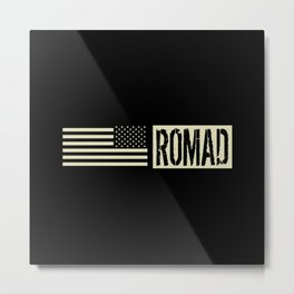 ROMAD (Black Flag) Metal Print