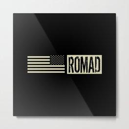 ROMAD (Black Flag) Metal Print