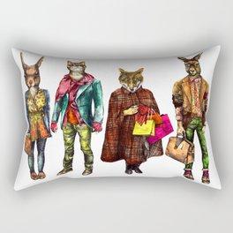 Vintage Pets Rectangular Pillow