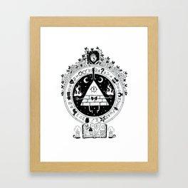 Cipher Framed Art Print