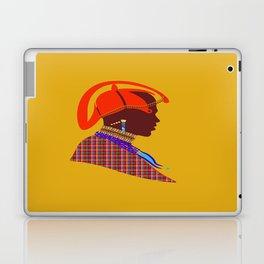 kenyan massai warrior zolliophone Graphic Design artwork Laptop & iPad Skin
