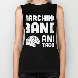Marching Band And Tacos Biker Tank