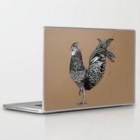 chicken Laptop & iPad Skins featuring Chicken  by Aubree Eisenwinter