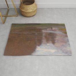 Gustav Klimt - Tranquil Pond Rug