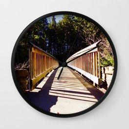 North Conway Bridge Wall Clock