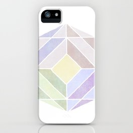 Polygones iPhone Case