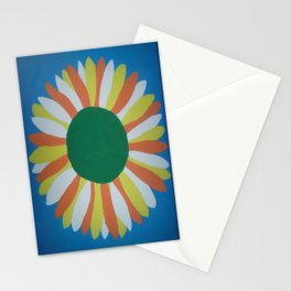Colorful Sunflower Stationery Cards