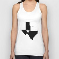 texas Tank Tops featuring TEXAS by Fool design