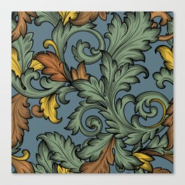 Acanthus Leaves Canvas Print