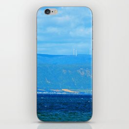 Coastal Wind Farm iPhone Skin