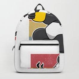 Ich Hasse Menschen Panda Kaffee Kaffeetrinker Misanthop Backpack