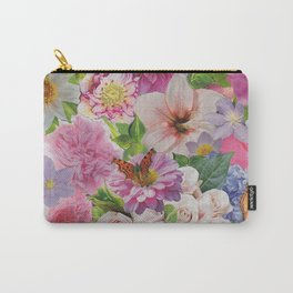 Pretty Petal Carry-All Pouch