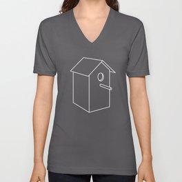 Home Sweet Birdhouse Unisex V-Neck