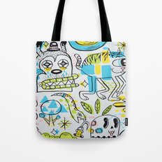 Shape Shifters Tote Bag