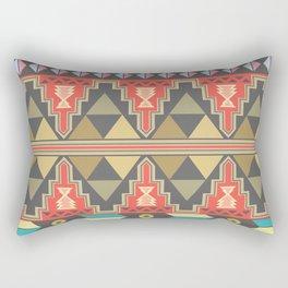 Aztec Flame Rectangular Pillow
