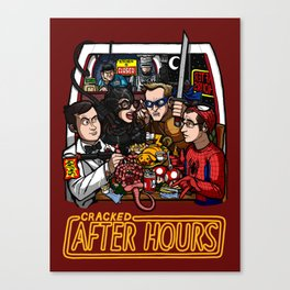After Hours: The Shirt Canvas Print