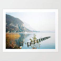 Annecy French Alps Art Print