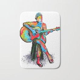 The guitarist Bath Mat