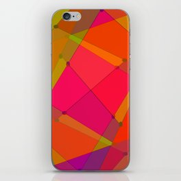0207 Construction by colors ... iPhone Skin