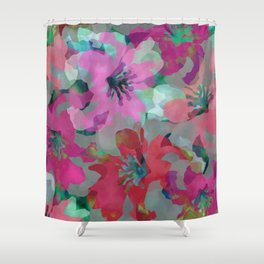 Lily Blooms Shower Curtain