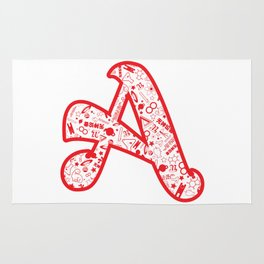 Scarlet A - Version 2 Rug