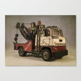 Wrecking Truck  Canvas Print