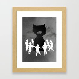 We All Fall Down Framed Art Print