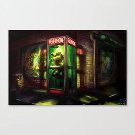 Loveland Frog Canvas Print
