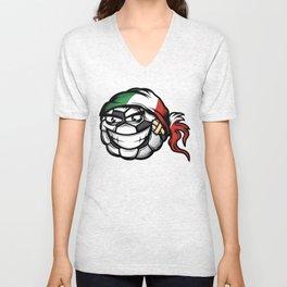 Football - Italy Unisex V-Neck
