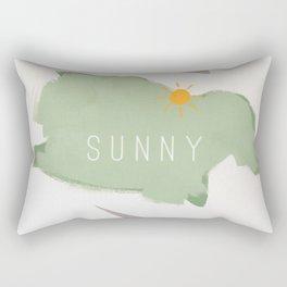 Hope - sunny Rectangular Pillow
