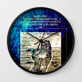 Scripture Pictures 16-02 Wall Clock