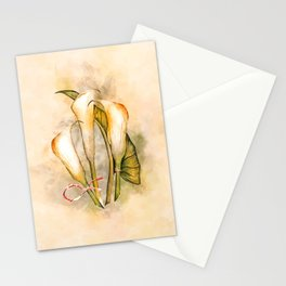 Passion #watercolor #floral Stationery Cards