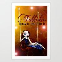 Pearlia Diamanté~Dreams Art Print